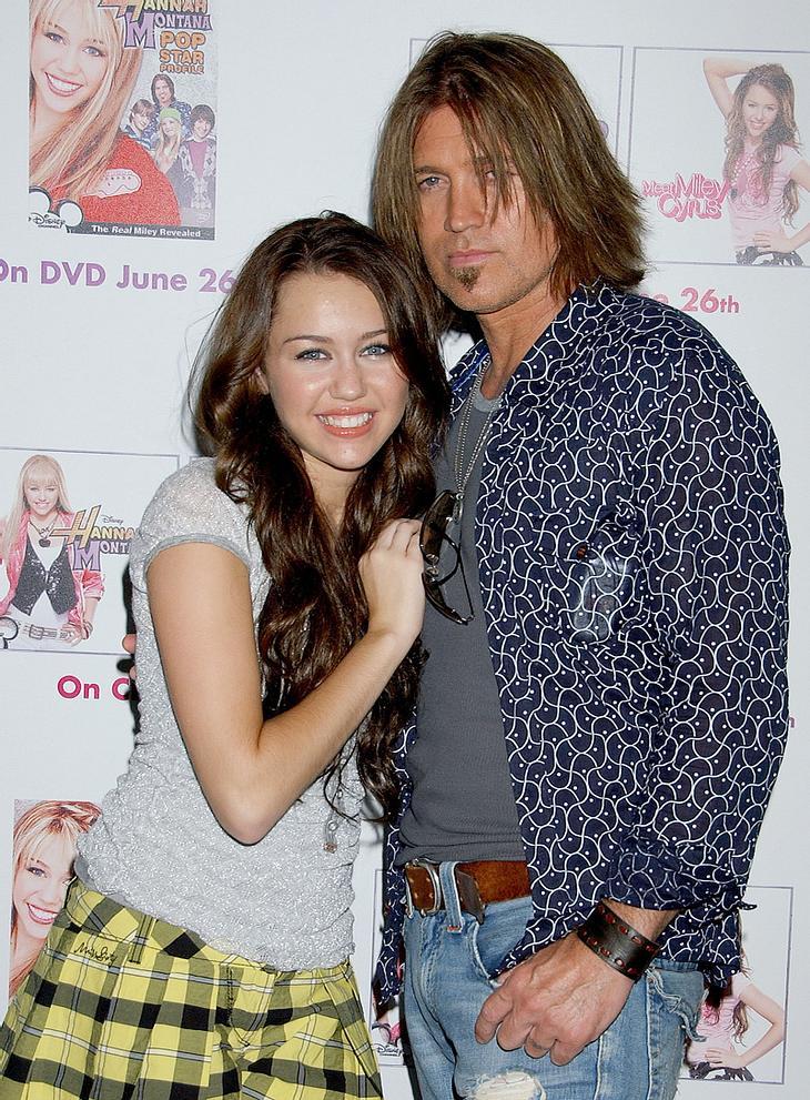 Miley Cyrus: Mein Papa, ein Fashion-Fiasko!