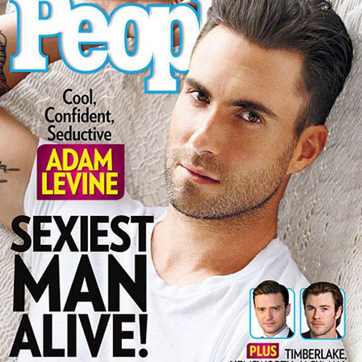 Adam Levine ist Sexiest Men Alive 2013