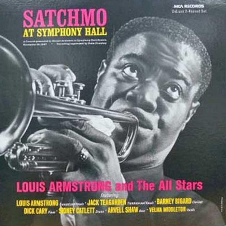60 Jahre Schallplatte in Deutschland! - Die ersten und liebsten Schallplatten der RedaktionAlenaMeine erste und einzige Platte ist eine von Louis Armstrong. Meine Mutter wollte sie wegschmeißen, aber ich rettete sie vor dem Mülleimer. Da wa