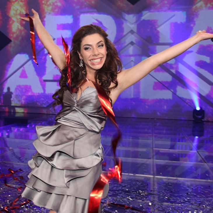 """Edita Abdieski gewann 2010 die erste """"X-Factor""""-Staffel."""