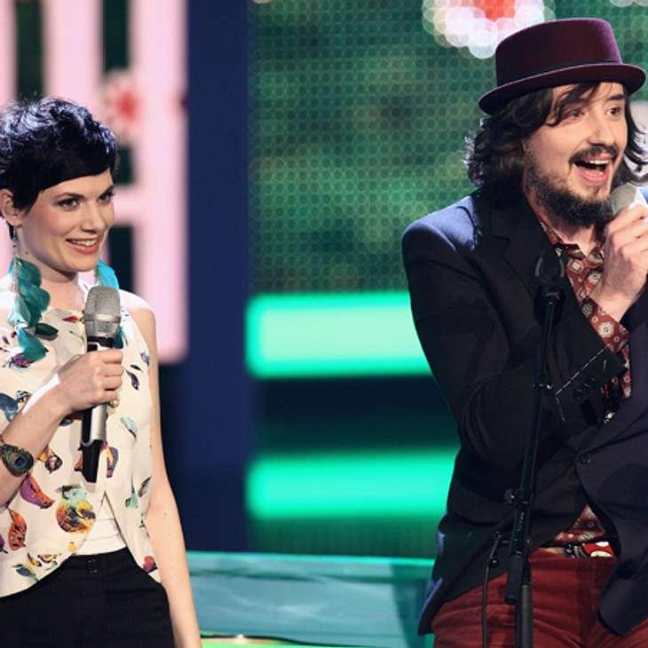 """Das Duo Mrs. Greenbird machte bei der dritten Staffel von """"X-Factor"""" der ersten Platz."""