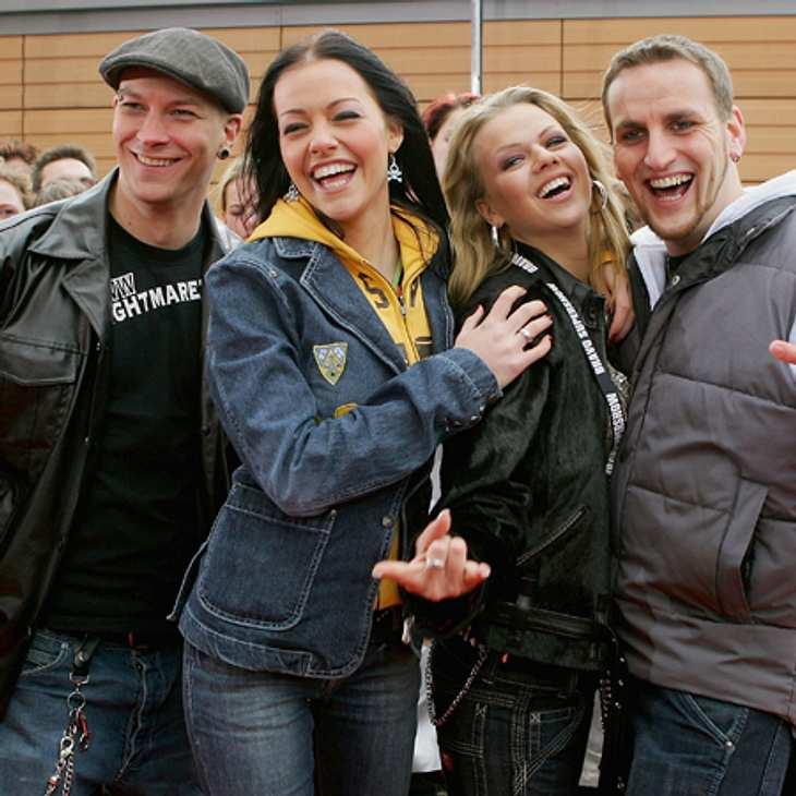 """2004 gewann Nu Pagadi (Markus Greimm, Kristina Dörfer, Patrick Boinet & Doreen Steinert) die vierte """"Popstars""""-Staffel."""