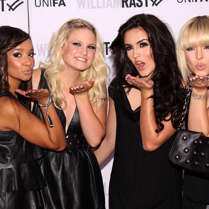 """2008 gewannen Queensberry (Gabriella De Almeida Rinne, Leonore Bartsch, Victoria Ulbrich & Antonella Trapani) die siebte Staffel von """"Popstars"""""""