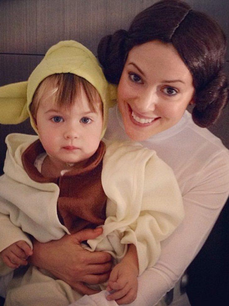 """Alyssa Milano setzte zu Halloween auf """"Star Wars"""""""