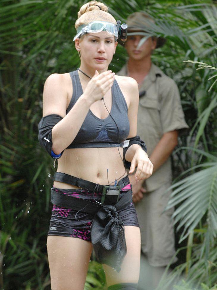 Angelina Heger hat das Camp freiwillig verlassen