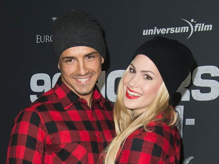 Angelina Heger und ihr Freund Chrissi genießen die gemeinsame Zeit