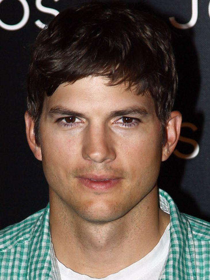 Ashton Kutcher ist anscheinend nicht besonders mutig