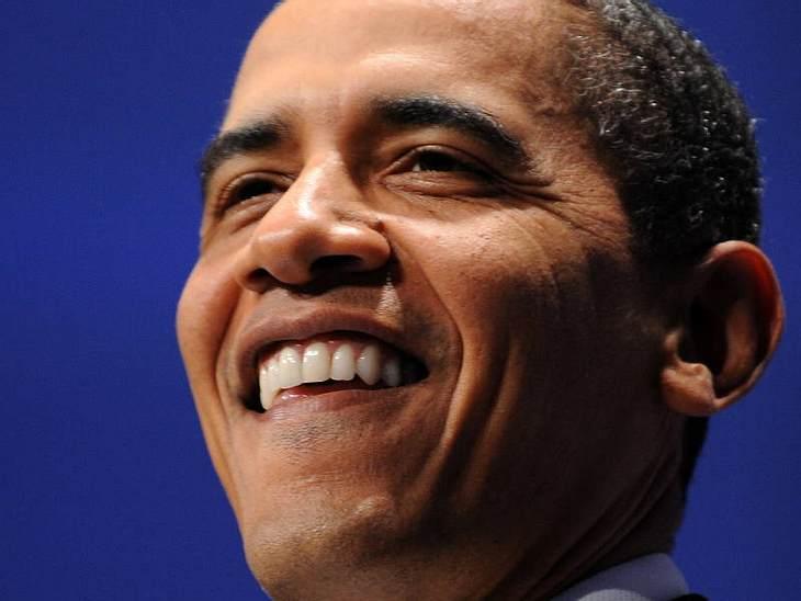 Auch Barack hat es nicht leicht.