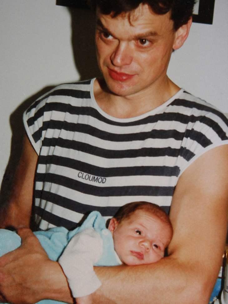 So niedlich war Bela Klentze als Baby!