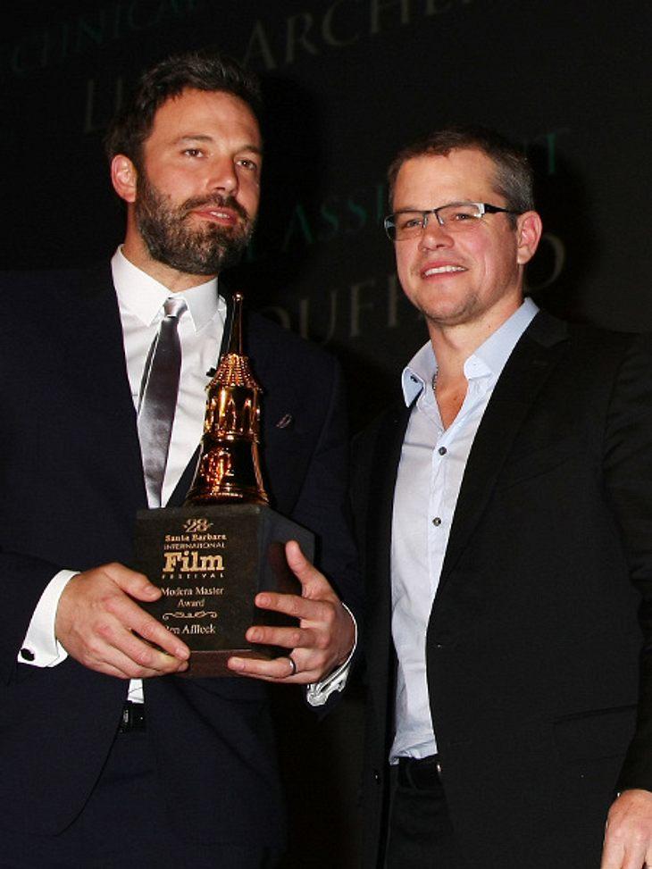 Ben Affleck und Matt Damon setzen jetzt auf Comedy