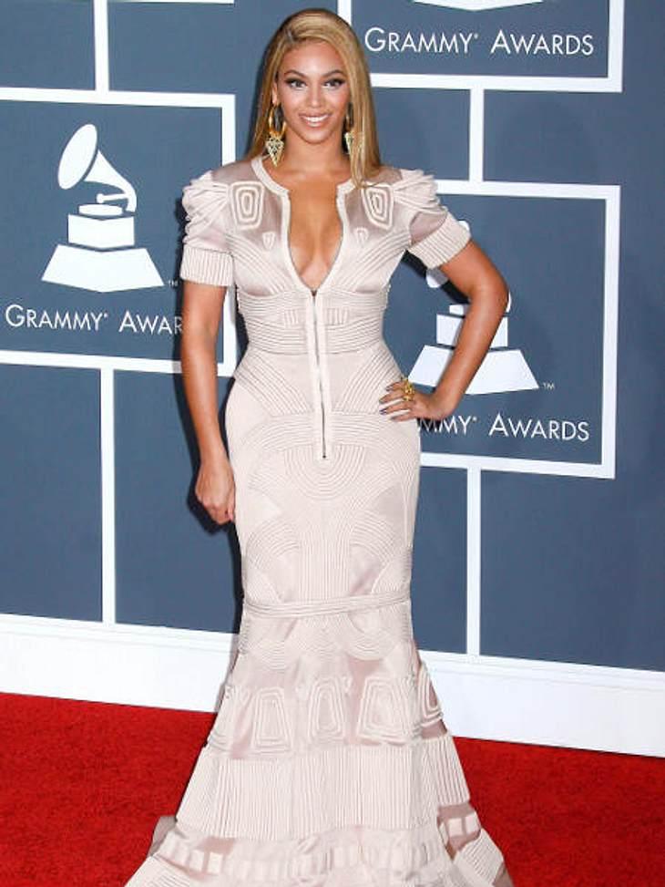 """Der Look von Beyoncé KnowlesGanz schön glamourös: Beyoncé Knowles bei den """"Grammy Awards 2010"""""""