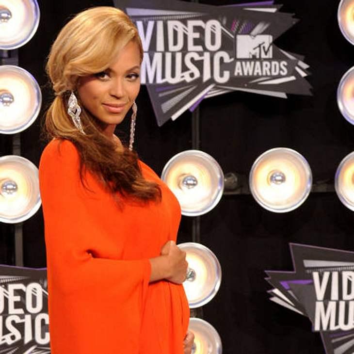 Beyoncé Knowles und ihr Mann Jay-Z erwarten ihr erstes Kind.