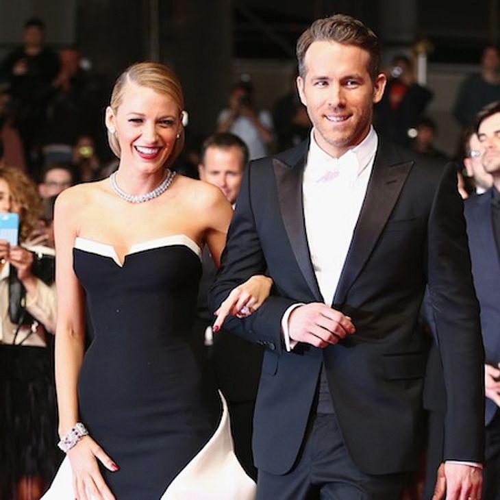 Blake Lively und Ryan Reynolds wurden zum ersten Mal Eltern