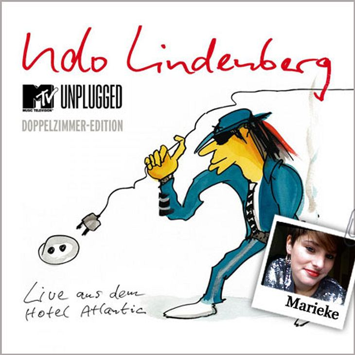 """Das hört die WUNDERWEIB.de-Redaktion im September Marieke hört """"MTV Unplugged - Live aus dem Hotel Atlantic (Doppelzimmer Edition)"""" von Udo Lindenberg: """"Max Herre, Clueso, Frida Gold, Jennifer Rostock, Inga Humpe, Jan Delay o"""