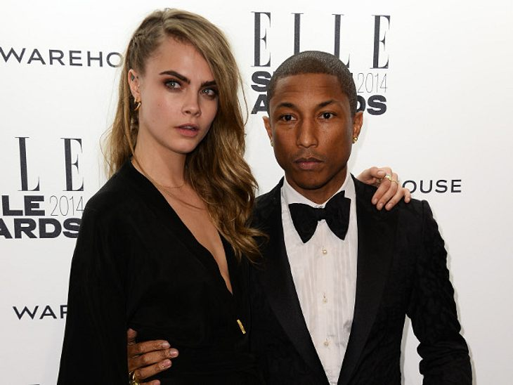 Cara Delevingne und Pharrell Williams singen Duett für Chanel-Film