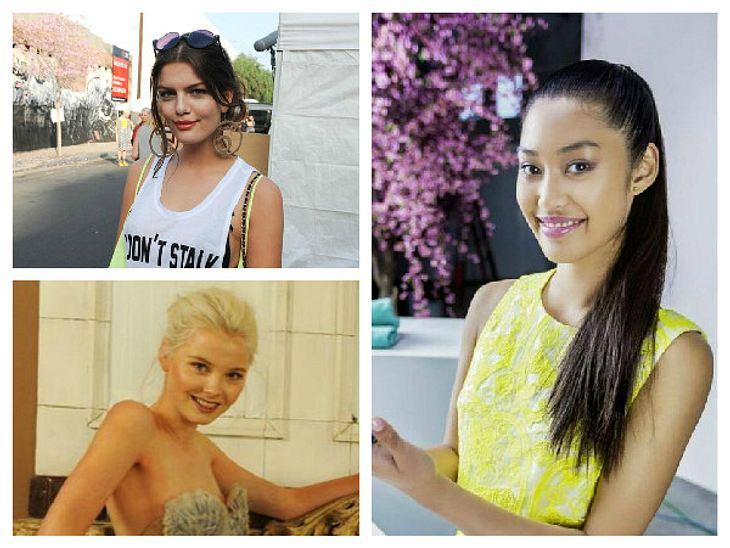 Vanessa, Katharina und Anuthida haben allen Grund zur Freude