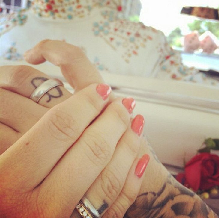 Sido und Charlotte Würdig haben zum 2. Mal geheiratet