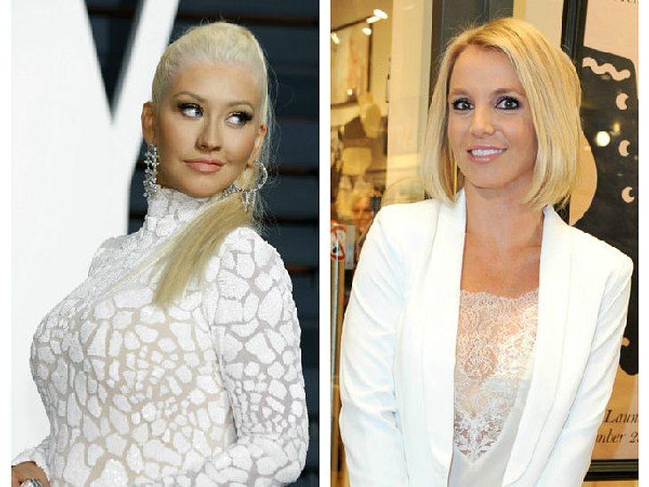 Christina Aguilera könnte Britneys Stimmen-Double werden