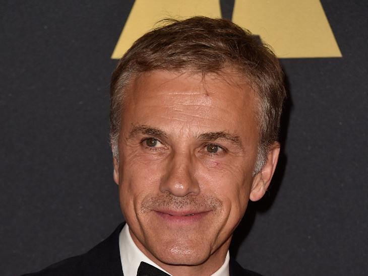 """Christoph Waltz steht für den neuen """"James Bond"""" vor der Kamera"""