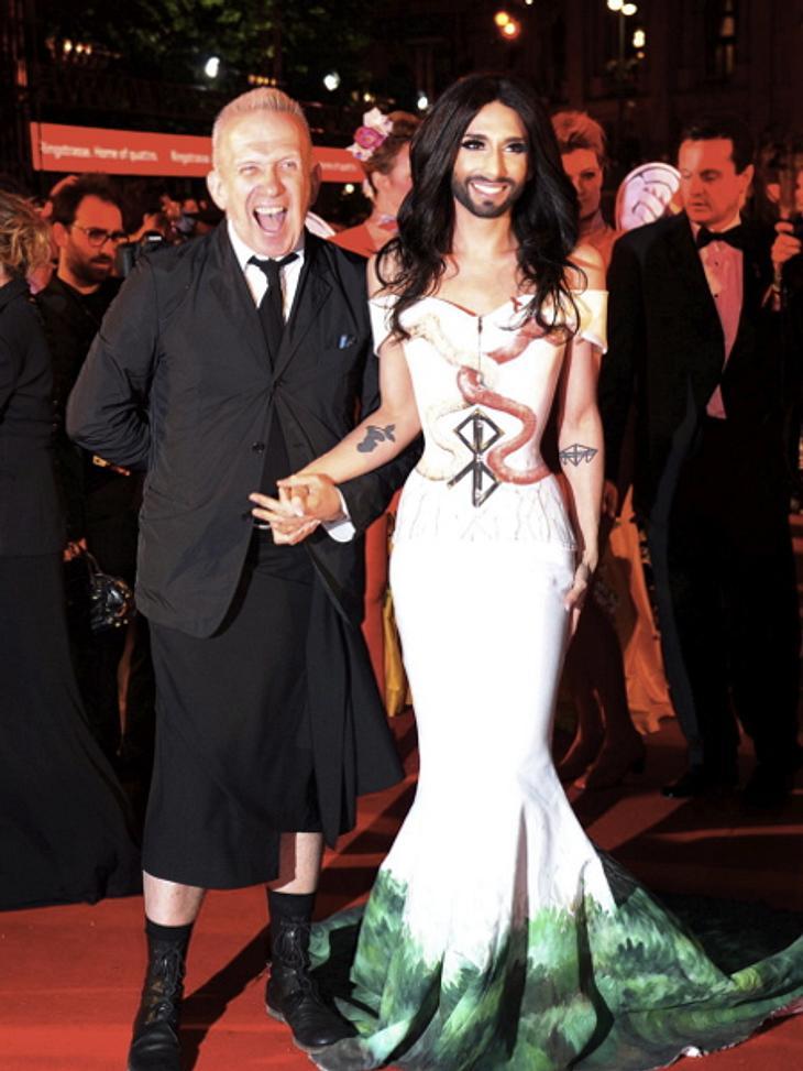 Jean-Paul Gaultier ist ein großer Fan von Conchita Wurst