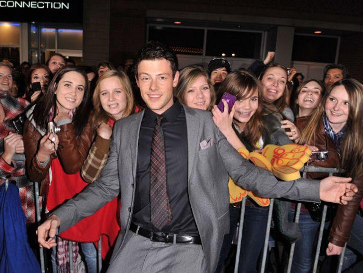 """Für seine Fans nahm der """"Glee""""-Star sich immer viel Zeit."""