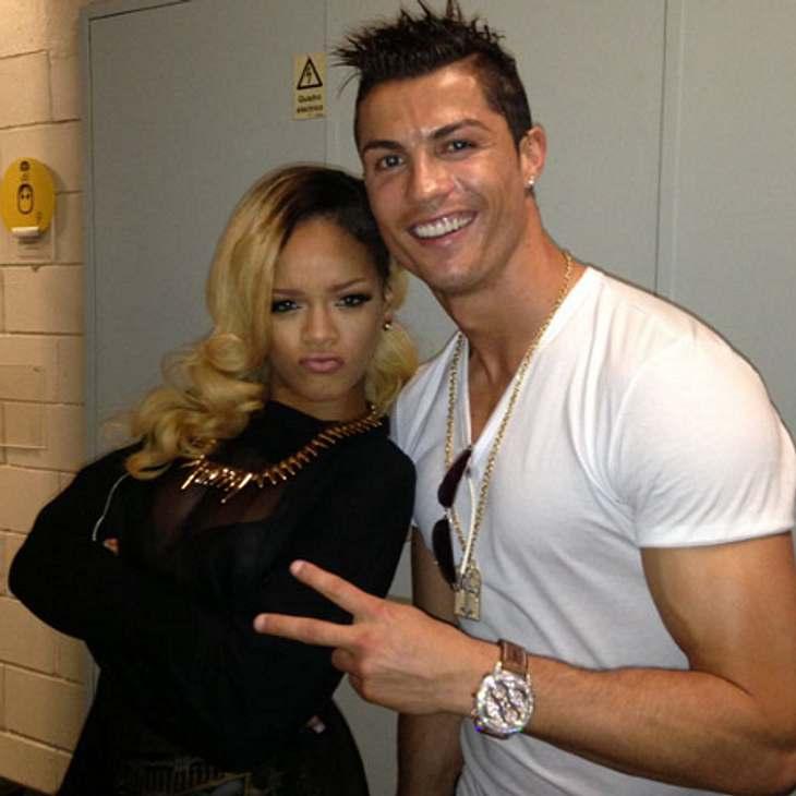 Rihanna und Cristiano Ronaldo sind befreundet