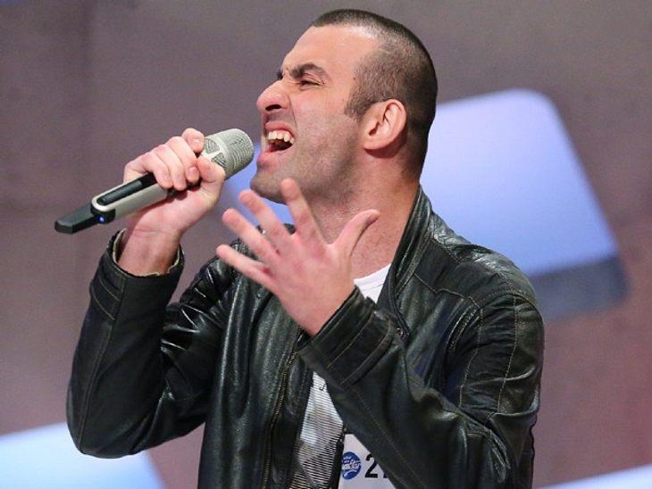 Antonio Gerardi sorgte für Gänsehaut bei der DSDS-Jury