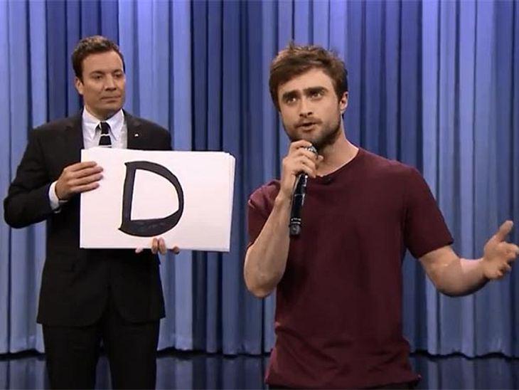 Daniel Radcliffe dreht auf