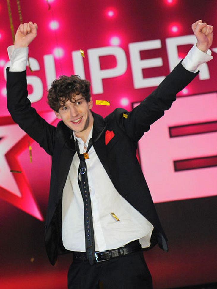"""Kommt mit dem Titel auch der Ruhm für """"Supertalent"""" Jean-Michel Aweh?"""