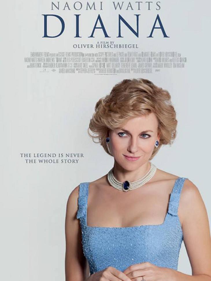 """Die englische Presse zerreißt """"Diana"""" in der Luft"""