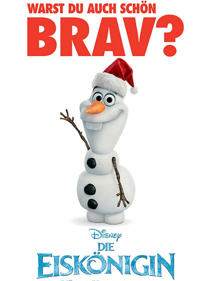 """Das gesamte InTouch Online Team wünscht Euch frohe Weihnachtstage und einen guten Rutsch ins neue Jahr - zusammen mit Olaf aus Disneys """"Die Eiskönigin - Völlig unverfroren"""""""