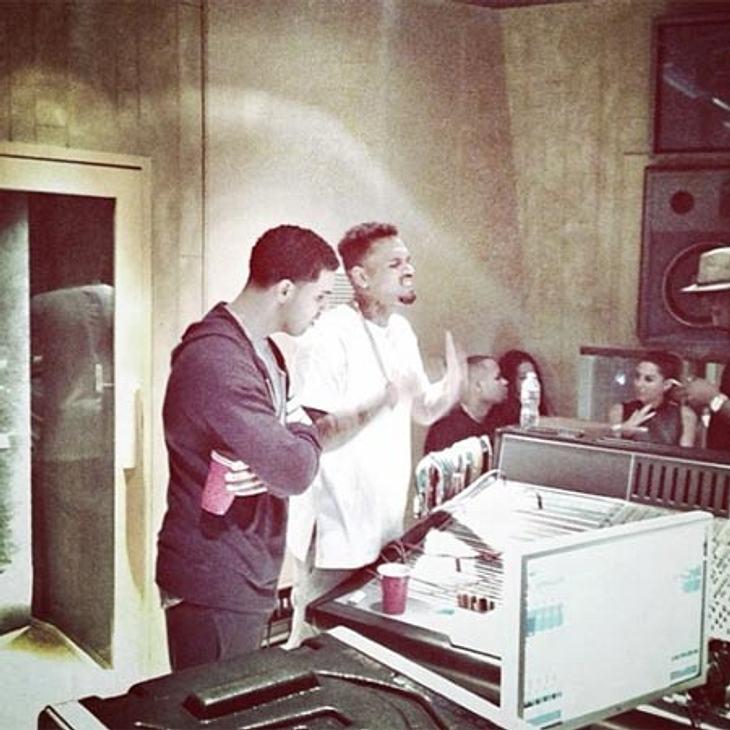 Drake und Chris Brown arbeiten an gemeinsamer Musik