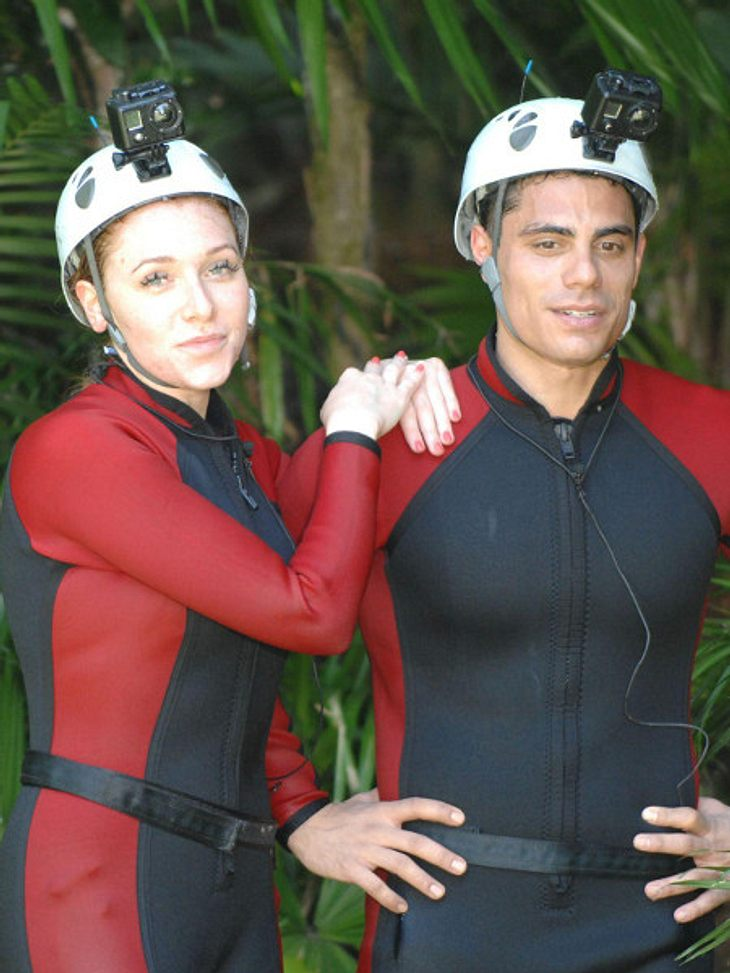 Georgina und Silva mussten zur Dschungelprüfung