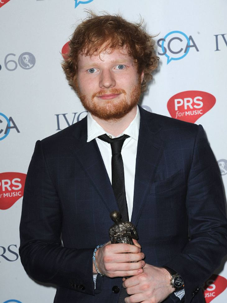 Ed Sheeran gewann kürzlich auch den Songwriter Of The Year Award