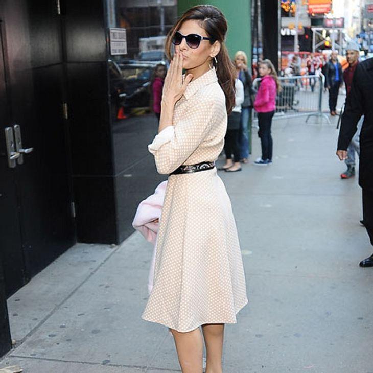 Der Style von Eva Mendes ist stilvoll