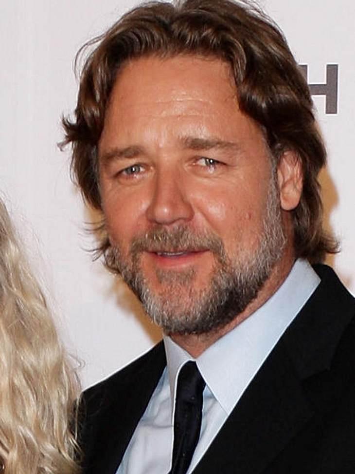 """Filmstars - Wer eigentlich ihre Rollen spielen sollte: """"X-Men"""",Russel Crowe war die erste Wahl für die Rolle des Wolverine. Aber er verlangte eine zu hohe Gage, weshalb sich die """"X-Men""""-Macher weiter umsahen."""
