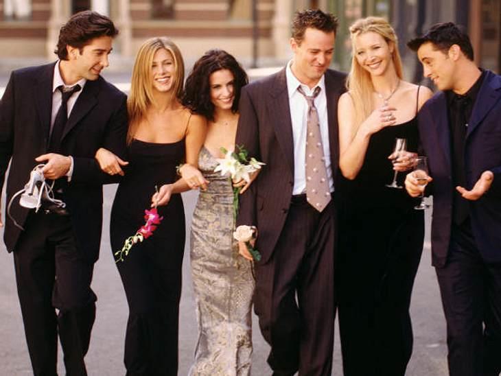 """Filmstars - Wer eigentlich ihre Rollen spielen sollte: """"Friends"""",Die Serie """"Friends"""" lief zehn Jahre lang super erfolgreich und die Zuschauer fühlten sich selbst auch als Teil der Clique um Ross (David Schwimmer), Rachel"""