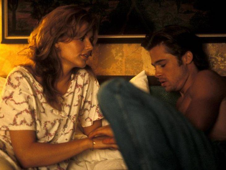 """Filmstars - Wer eigentlich ihre Rollen spielen sollte: """"Thelma & Louise"""",Eine kleine Rolle als Anhalter, der eine kurze Affäre mit Geena Davis in """"Thelma & Louise"""" hat, verhalf Brad Pitt in die Riege der Filmstar"""