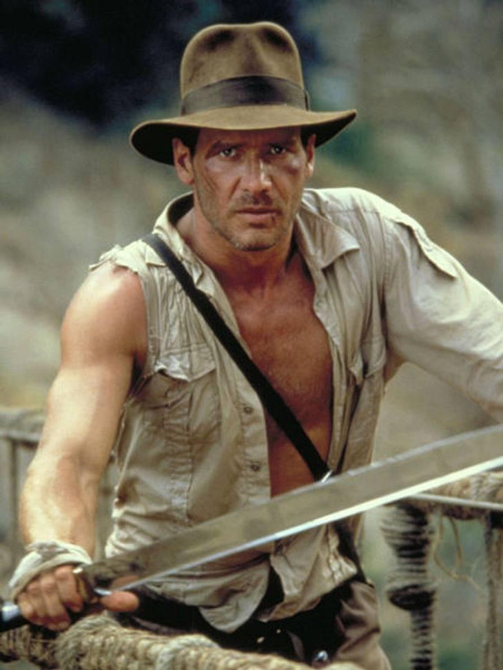 """Filmstars - Wer eigentlich ihre Rollen spielen sollte: """"Indiana Jones"""",Harrison Ford und Indiana Jones gehören einfach zusammen. Oder?"""