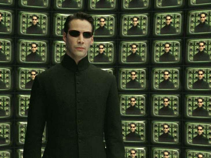 """Filmstars - Wer eigentlich ihre Rollen spielen sollte: """"Matrix"""",Dass Keanu Reeves in """"Matrix"""" spielen durfte, war ein großes Glück für ihn. Viele Filmstars wollten Neo spielen..."""