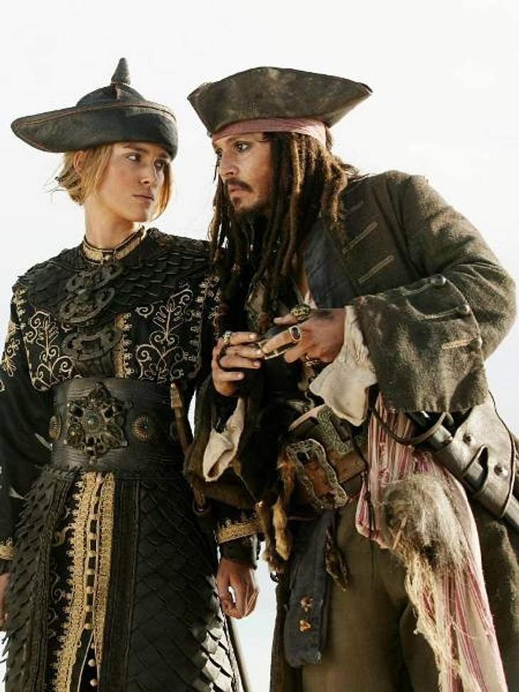 """Filmstars - Wer eigentlich ihre Rollen spielen sollte: """"Fluch der Karibik"""",Johnny Depp hat Jack Sparrow einfach grandios gespielt. Die Autoren dachten aber beim Schreiben des Drehbuches an einen anderen Jack..."""