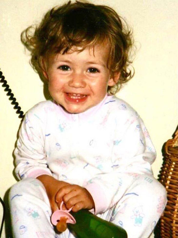 So süß war Fiona Erdmann als kleines Kind