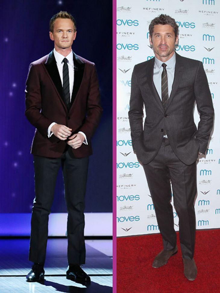 Patrick Dempsey und Neil Patrick Harris zählen zu den bestbezahlten Serienstars