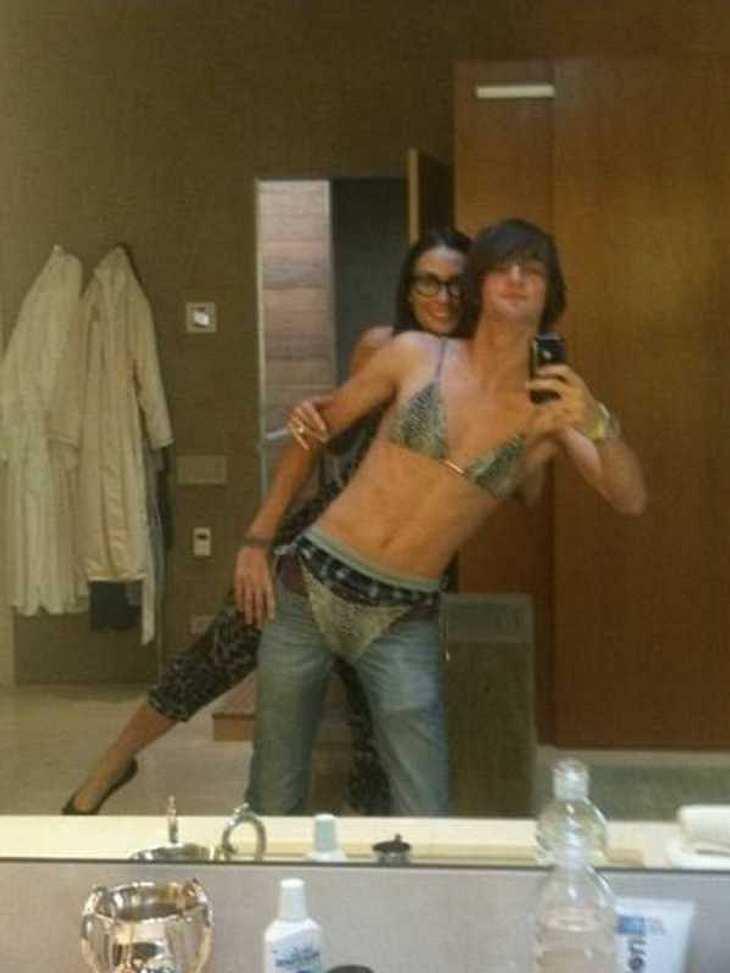 Die witzigsten Twitter-Fotos von Demi Moore und Ashton Kutcher