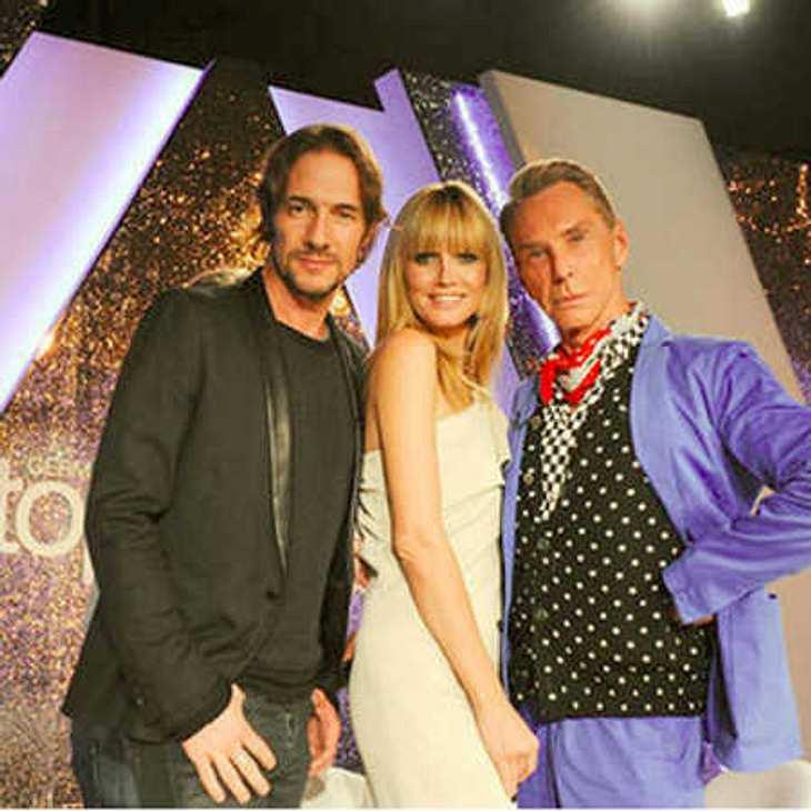 GNTM-Finale: Wolfgang Joop disst Heidi Klum!