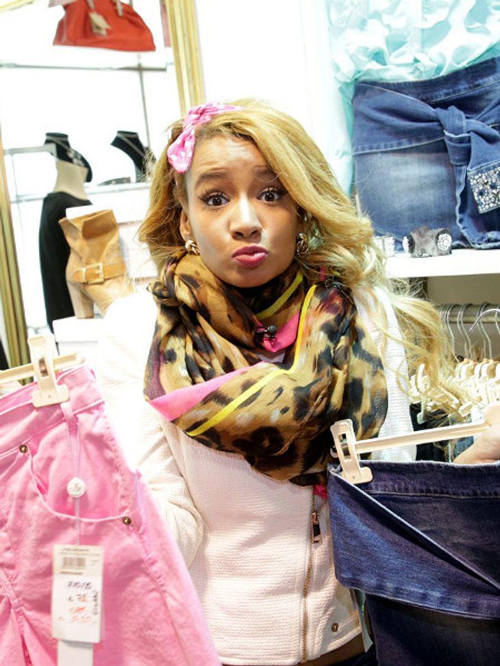 """Gabby Rinne bei """"Promi Shopping Queen"""""""