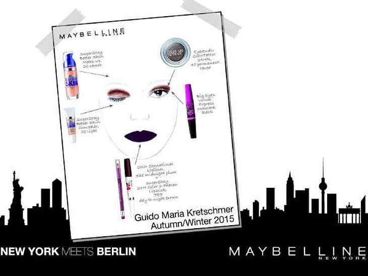 Den Look der Fashion Week in Berlin kannst Du jetzt ganz easy nachmachen. Jade Maybelline hat alles, was Du brauchst, um den Style der Models der Guido Maria Kretschmer Show zu schminken. Probiere es doch einfach aus!Zum Beispiel: Make-Up &