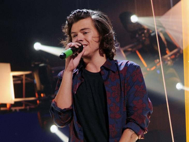 Auf der One Direction-Tour wurde er mit einer Frau gesehen
