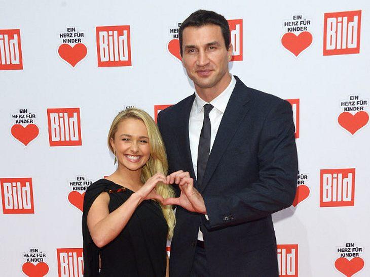 Hayden Panettiere und Wladimir Klitschko sind glücklich über ihre kleine Tochter