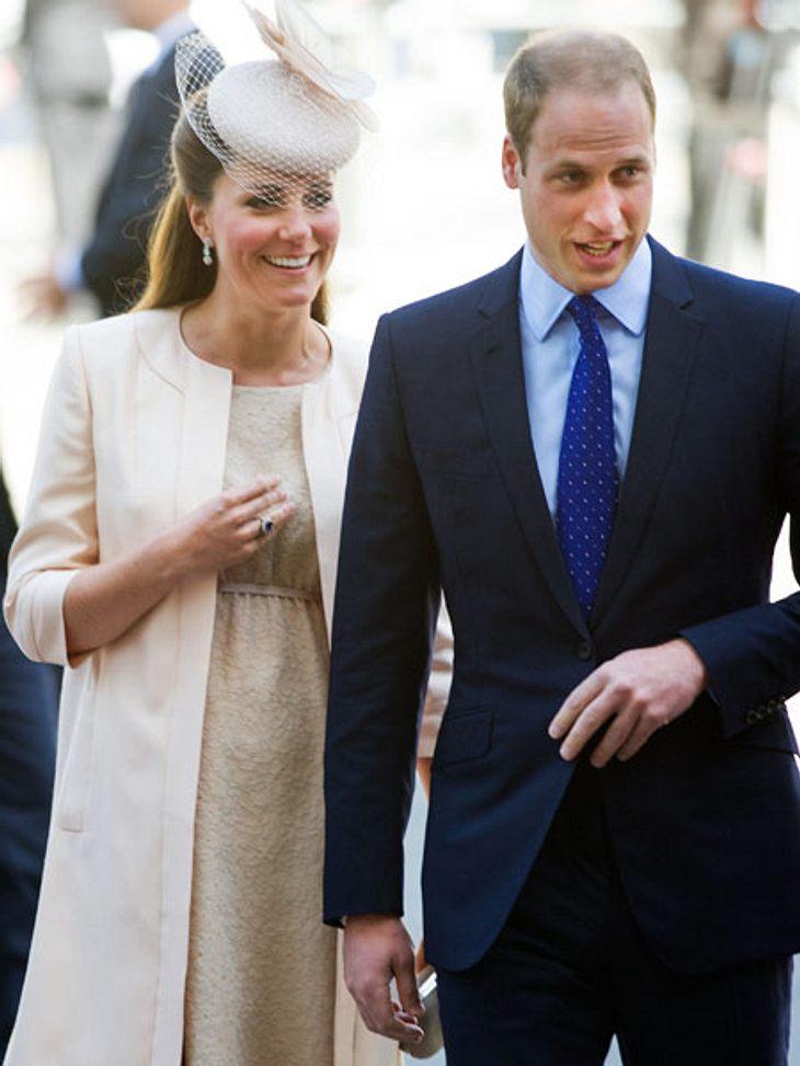 Das Baby könnte jeden Moment kommen - und der werdende Opa Prinz Charles ist in York.